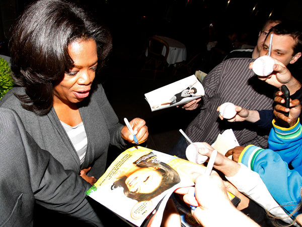 Left Handed Famous People | Oprah Winfrey