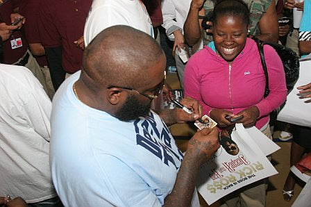 Left Handed Celebrities | Rick Ross