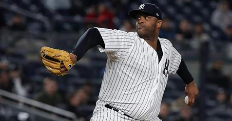 Left-handed starter CC Sabathia placed on the 10-day disabled list