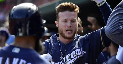 Phillips, 23, gives the Brewers another left-handed hitter