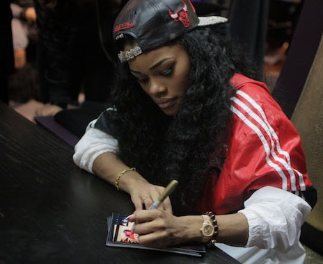 Left Handed Celebrities | Teyana Taylor
