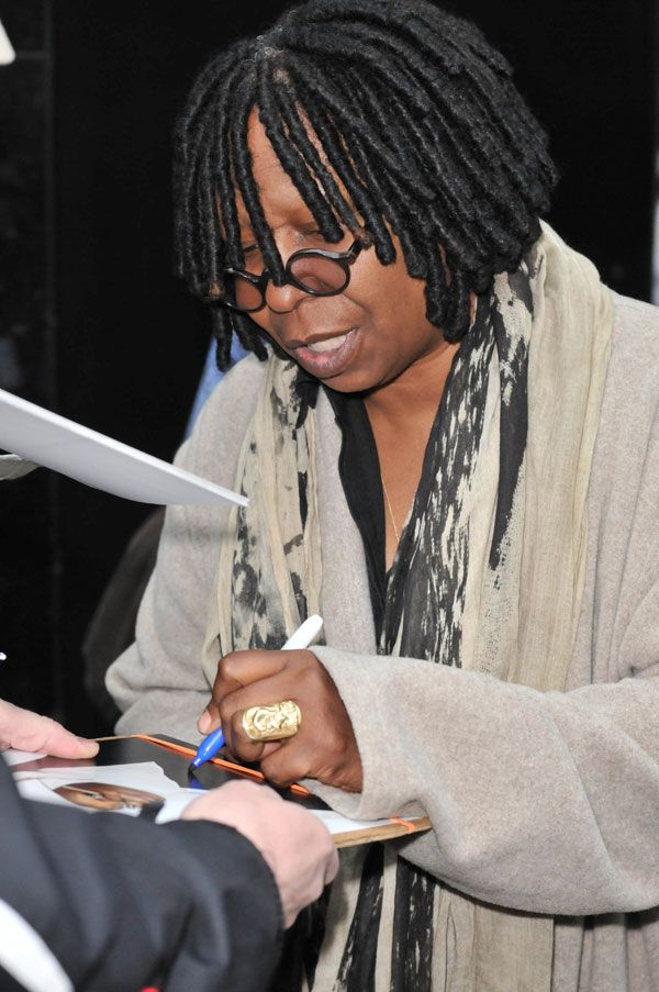 Left Handed Celebrities | EGOT Winner Whoopi Goldberg
