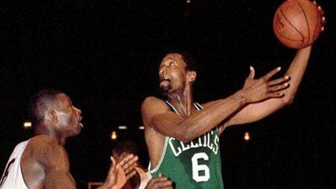 Bill Russell | left handed basketball player