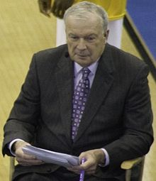 Digger Phelps | left handed basketball player