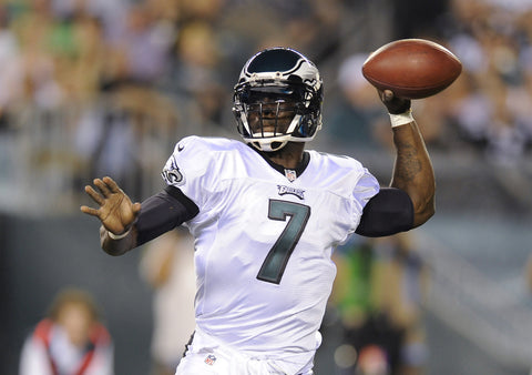 Michael Vick left handed quarterback