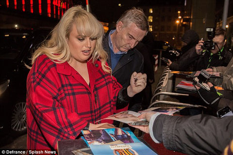 Rebel Wilson | left handed celebrity