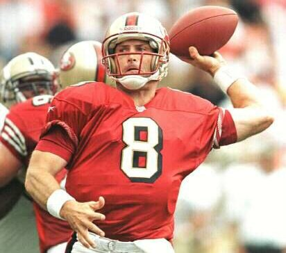 Steve Young left handed football player