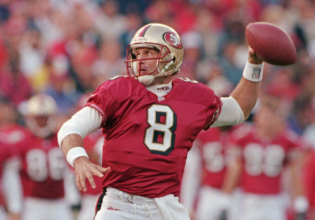 Steve Young | left handed quarterback