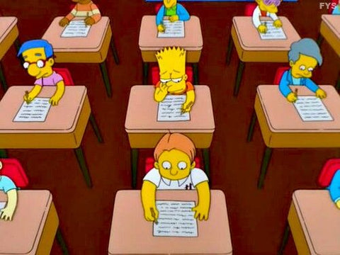 Bart Simpson  | Left Handed