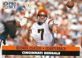 Boomer Esiason | left handed quarterback | lefties only
