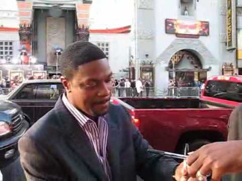 Chris Tucker | Left handed comedian