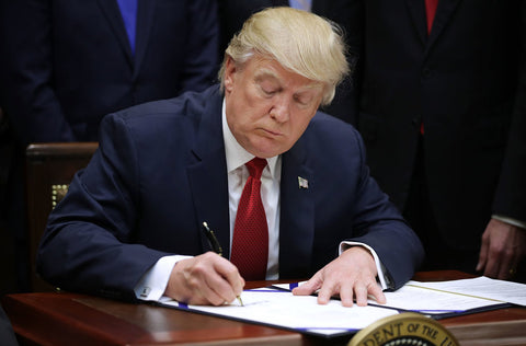 Donald Trump | Right Handed Signing