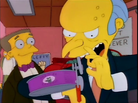 Mr. Burns | Left Handed