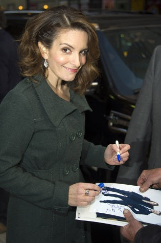 Famous Left Handed Celebrities | Tina Fey | Lefties Only
