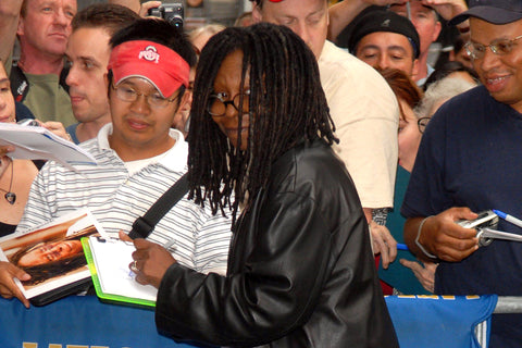 Famous Left Handed Celebrities | Whoopi Goldberg | Lefties Only