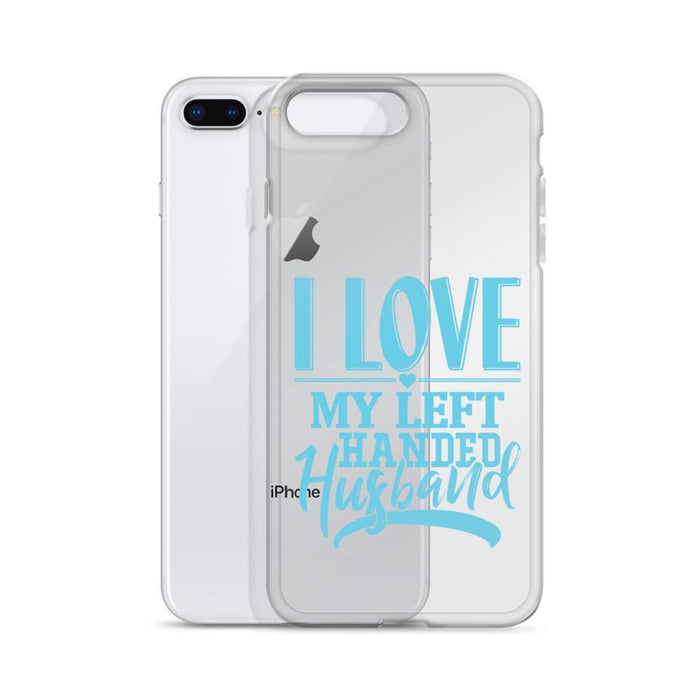 I Love My Left Handed Husband IPhone Case