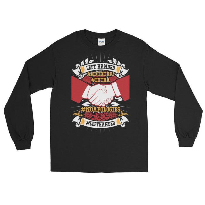 Left Handed And Extra! Unisex Long Sleeve T-Shirt