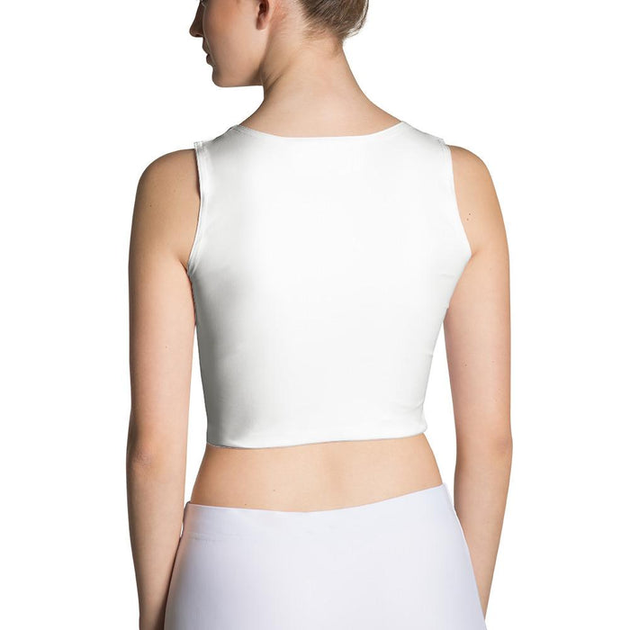 Left Handed And Snatched! Sexy Fitted Crop Top