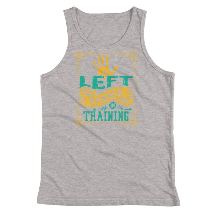 Left Hander In Training Kids/Youth Tank Top