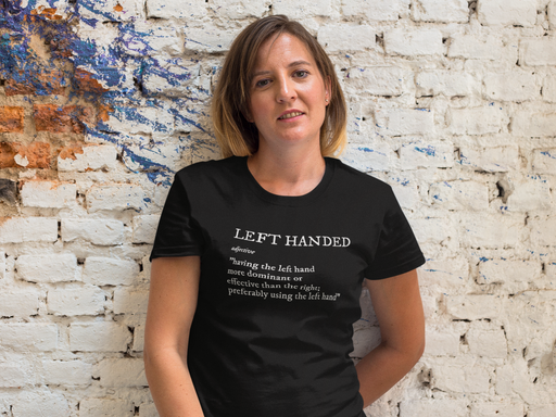 Left Handed Definition Short-Sleeve Unisex T-Shirt