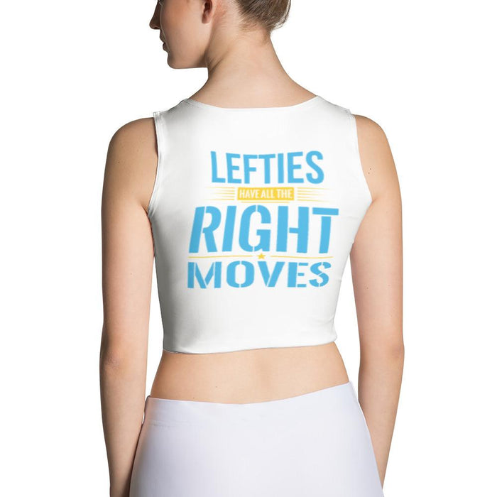 Lefties Have All The Right Moves Fitted Sexy Crop Top