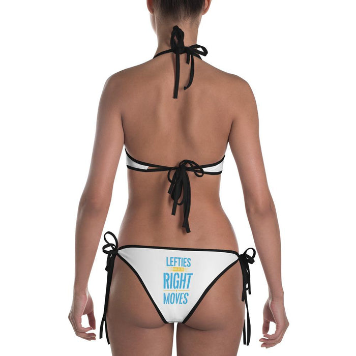 Lefties Have All The Right Moves Sexy Bikini | Front Bikini Bottom Design