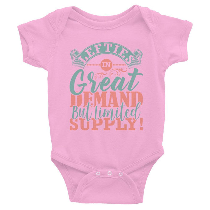 Lefties In Great Demand But Limited Supply Infant Bodysuit