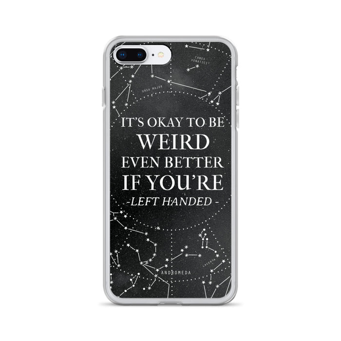 It's Okay To Be Weird iPhone Case