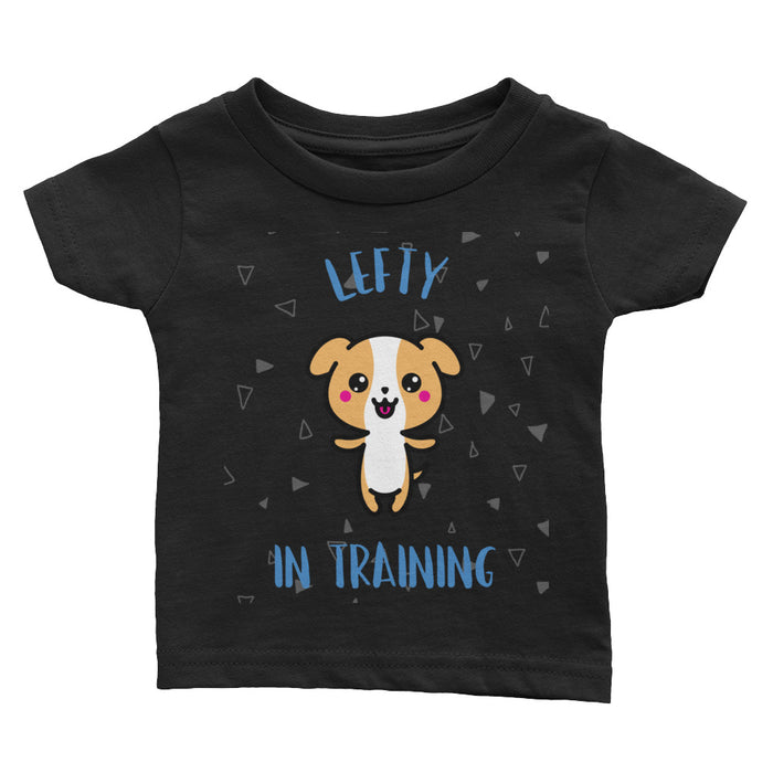 Lefty In Training Infant Boy's Tee