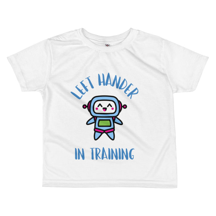 Left Hander in Training Toddler Boy's T-shirt