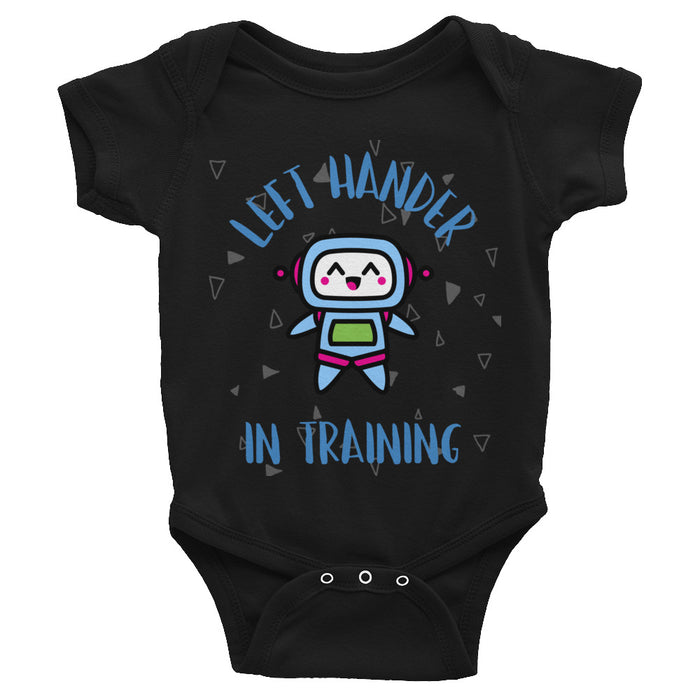 Left Hander In Training Infant Bodysuit/Onesie