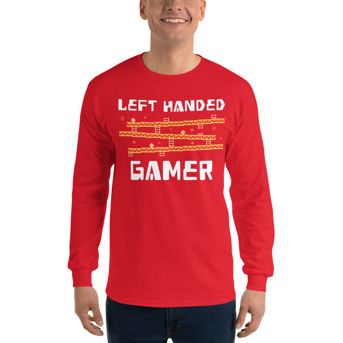 Left Handed Gamer Long Sleeve T-Shirt