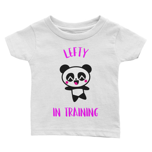 Lefty In Training Infant Girl's Tee