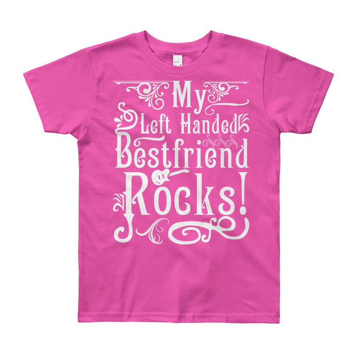 My Left Handed Bestfriend Rocks Kids/Youth Short Sleeve T-Shirt