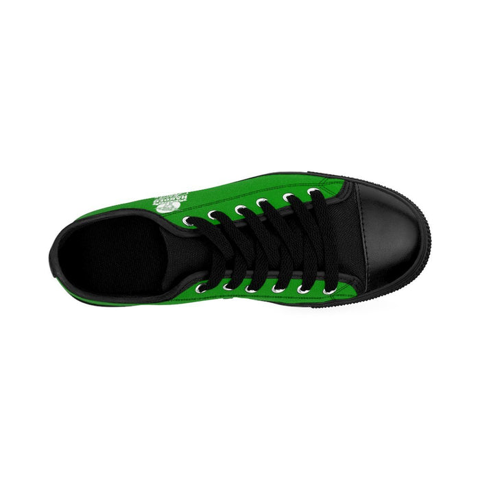 Shoes - I'm Left Handed What's Your Super Power Women's Sneakers | Green