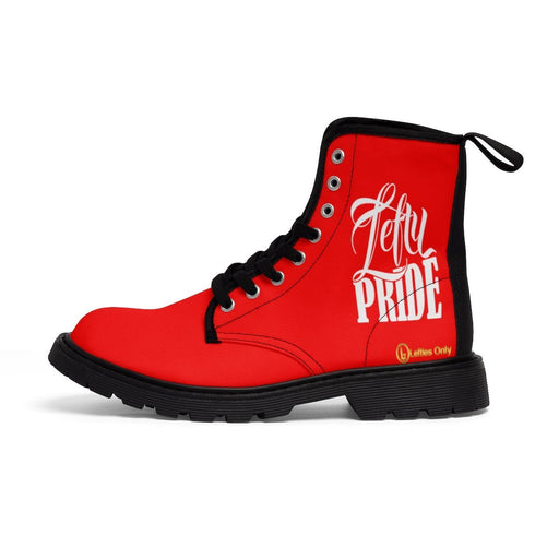 Shoes - Lefty Pride Men's Martin Boots | Red