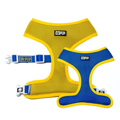 Yellow/Blue Reversible Harness
