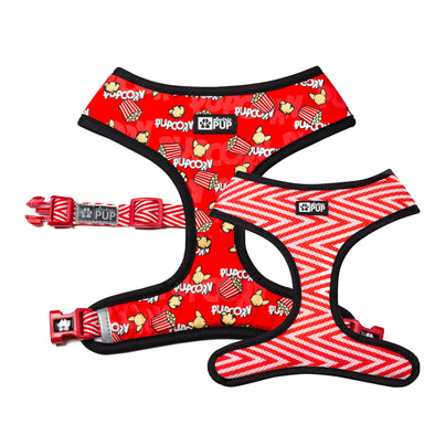 'PupCorn' Reversible Harness