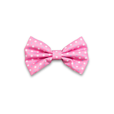 'Puppy Love' (Pink/Blue) Bow tie
