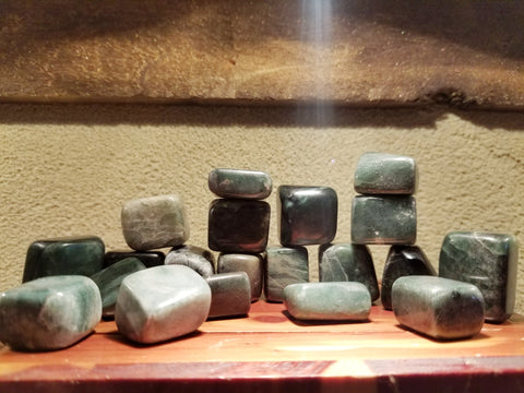 Large Jade Tumbles for Healing, Prosperity and Protection - The Crystal Cavern
