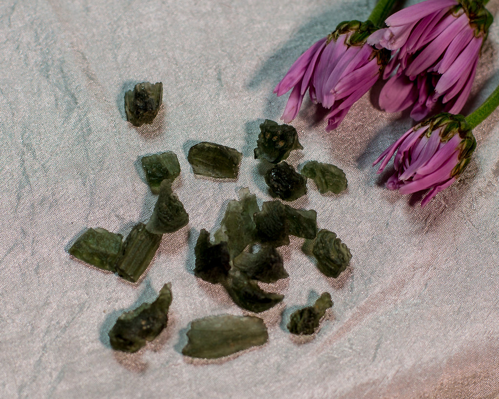 Moldavite for Psychic Expansion - The Crystal Cavern