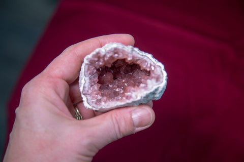 Pink Amethyst Specimens for Deep Emotional Healing - The Crystal Cavern