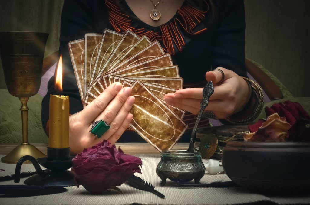 Learning the Sacred Art of Tarot (4 Classes Over 4 Weeks - $30 Per Class) - The Crystal Cavern