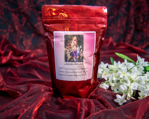Aphrodite Bath Salts - The Crystal Cavern