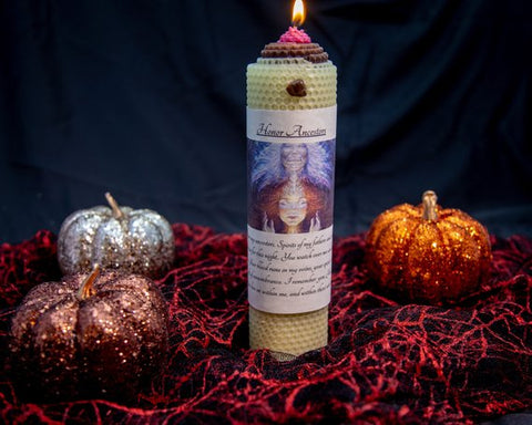 Honor Ancestors Candle