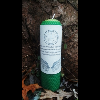 Archangel Raphael Ritual Candle - The Crystal Cavern