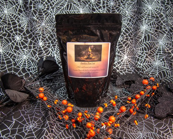 Samhain Bath Salt - The Crystal Cavern