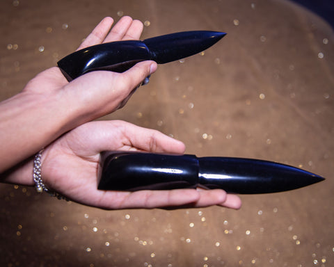 Obsidian Athame for Psychic Protection and Releasing - The Crystal Cavern