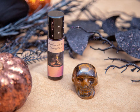 Samhain Candle and Oil for Sacred Veil Magick