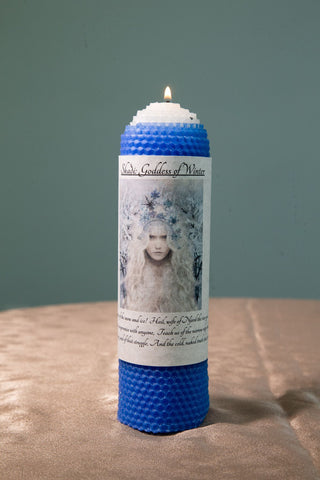 Skaði: Goddess of Winter Candle